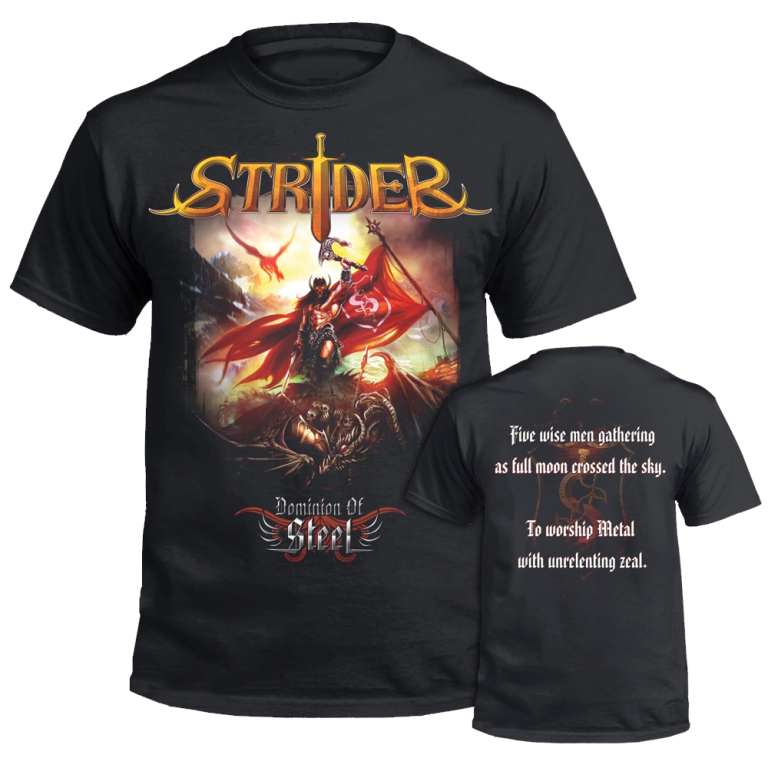 """""""DOMINION OF STEEL"""" T-SHIRT"""
